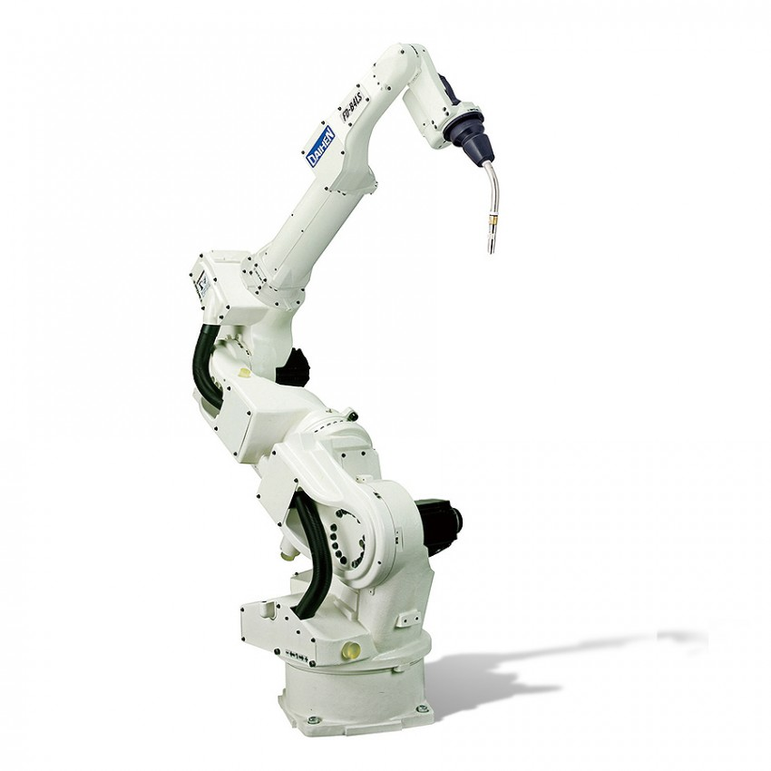 7-axis robot welding cell