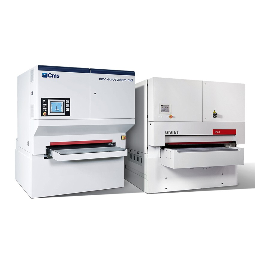 CNC grinding and satin finishing machines